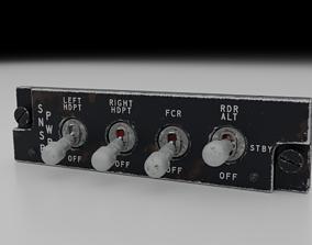 3D model F16 Sensor Power Management Panel - SNSR