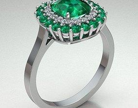 3D print model Jewelry Ring Women diamond-ring