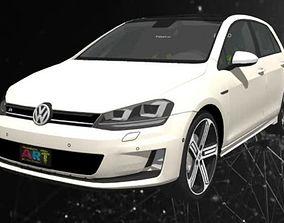 VW Golf 7 3D print model