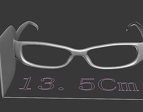 glasses block side light 3D model