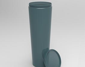 Realistic plastic Bottle 3D
