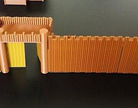 3D print model THE DEFENSIVE WALL