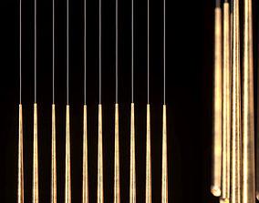 3D model Restoration Hardware Aquitane Linear chandelier
