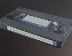 3D model VHS Cassette - PBR Game Ready