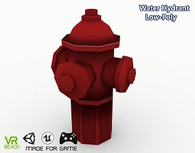 3D asset realtime Water Hydrant