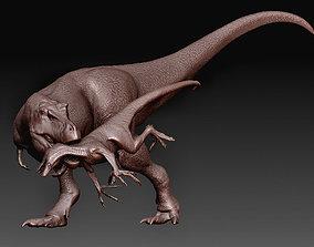 3D print model TRex vs Raptor