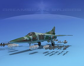 3D model MIG-27 Flogger Poland