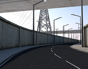 Highway 3D model