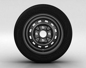 3D model Daewoo Matiz Wheel 13 inch 001