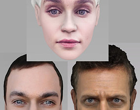 Famous TV characters pack - Sheldon Cooper Daenerys MD 3D