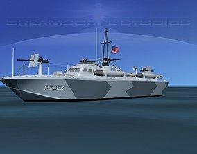 3D model Patrol Torpedo Boat PT427
