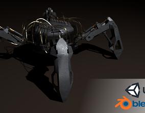 3D asset Hydraulic spider