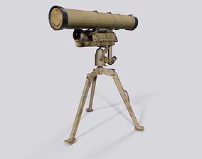 Russian Missile Launcher - 9M133 Kornet-E -- 3D asset 1