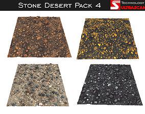 Stone Desert Pack 4 3D model