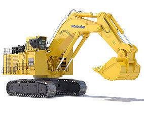 Komatsu PC8000 construction 3D