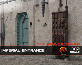 3D print model The Mandalorian - The Imperial Entrance 1