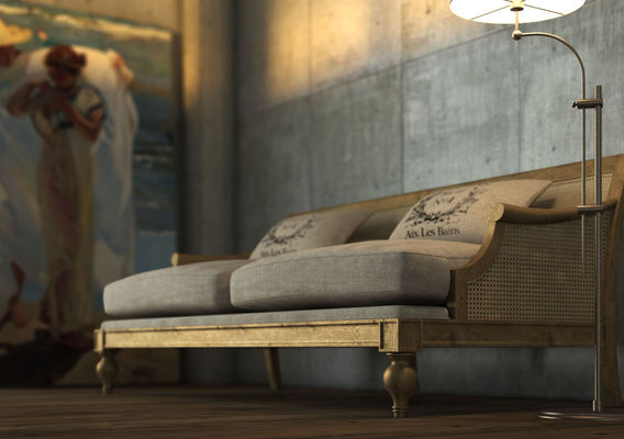 Vintage Country Sofa