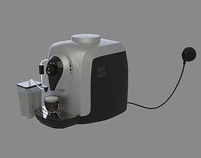3D Coffee machine cappuchino