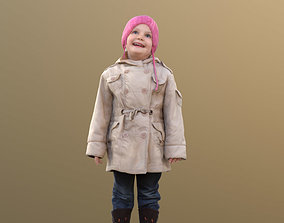 Lillly 10090 - Smiling child 3D asset