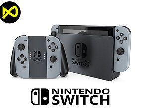 Nintendo Switch Set 1 3D model