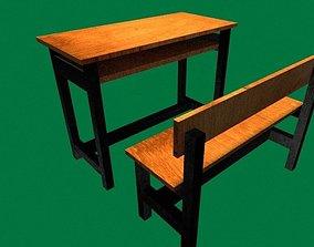 3D print model School Desk