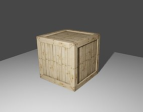 3D model Wood Box - Caixa de Madeira