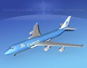 Boeing 747-8 KLM Cargo 3D model