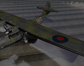 3D model Consolidated Catalina Mk-1 - RAF