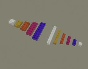Lego Bricks 3D asset