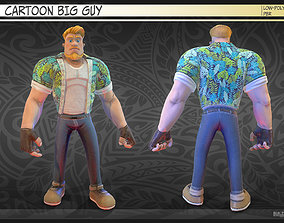 3D asset Cartoon big guy