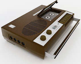 realtime record player 3D model
