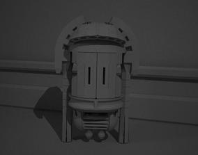 armor 3D model robot