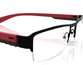 beach Eyeglasses for Men and Women 3D print model