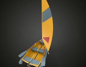 3D model Sailing ship xxy