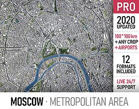 skyscraper 3D Moscow - metropolitan area