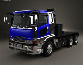 Mitsubishi Fuso Super Great FP Tractor Truck 1996 3D