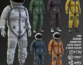 3D model CS01 Space Suit
