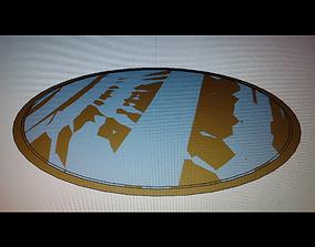G gate multi surface flat 3D print model