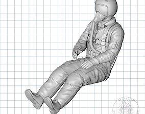 3D print model RUSSIAN JET-PILOT