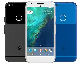 3D model Google Pixel All Colors