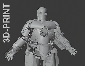 Iron Man Mark 1 3D print model
