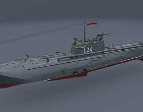 3D torpedo boat G-5