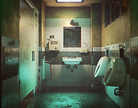 3D asset Bathroom Interior