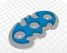 3D printable model Batman fidget spinner - printer ready