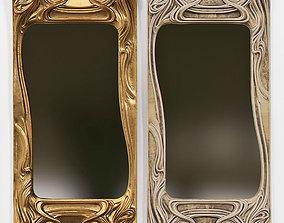 print Art Nouveau Mirror 3D