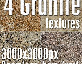 4 High Res Seamless Granite Textures Vol02 part3 3D model