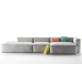 Mags Sofa sectional 3D model