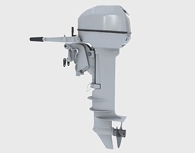 3D Outboard 15HP