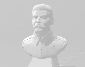 scans-replicas 3D printable model Joseph Stalin bust