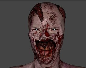 3D model Zombie - Game Character